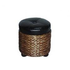 Asiento ba�l peque�o con tapa D32 x 33 cm en fibras