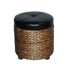Asiento baúl grande con tapa D43 x 44 cm en fibras
