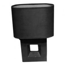 lampara portatil de mesa Negra