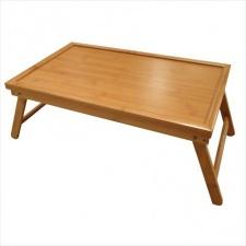 Mesa o bandeja de cama 50 x 30 x 21 cm plegable