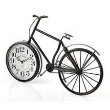 Reloj de mesa hierro 49 x 32 cm. Bicicleta