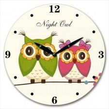 Reloj de pared MDF Diámetro 28,8 x 3.5 cm.