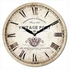 Reloj de pared MDF D28,8 x 3.5 cm.