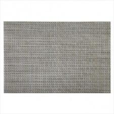 Mantel Individual 30 x 45 cm tonos grises material textil.