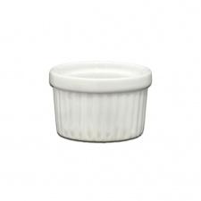 Ramequin apilable D4,5 cm. porcelana blanca.