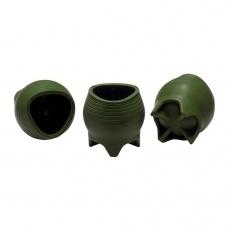 Mate silicona 8 x 8 cm. Verde