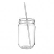 Vaso Plástico 590 ml Cuerpo y Tapa Transparente