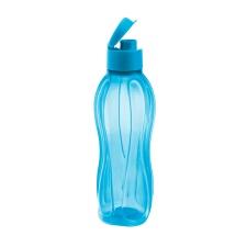 Botella Sport plásticas con tapón 800 ml Celeste.