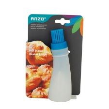 Pincel de silicona con dosificador Anzo.