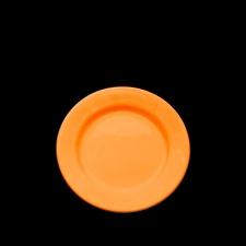 Plato de Postre 19 cm. Olmos Naranja.