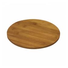 Tabla bamboo redonda para picar D 27 x H 0,8 cm.