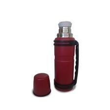 Termo COR Acero 1LT Rojo.