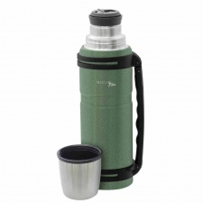 Termo doble pared 1200 ml. gris Verde Selecta Plus.