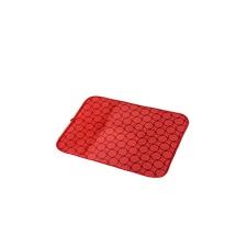 Escurre vajilla microfibra 60 x 45 cm. rojo.