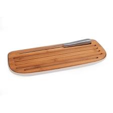 Tabla para cortar pan con cuchillo Bamboo Eco.