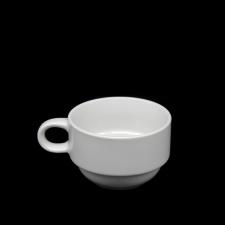 Taza te 220 cc ceramica blanca BG