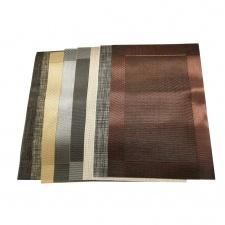 Mantel individual platinado 45 X 30 cm Goldsky