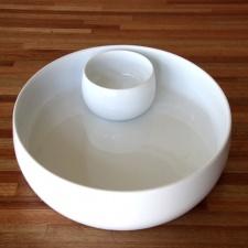 Copetinero con salsera incluida cerámica Goldsky
