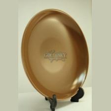 Plato ceramica marrón 20.5cm con averia