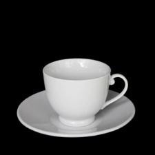Taza té con platillo. 140 ml. Set x 6 piezas
