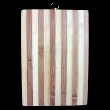 Tabla Bamboo rectangular para picar 31,5 x 21,5 cm.