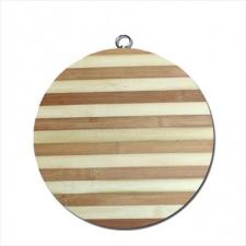 Tabla Bamboo redonda para picar 32 cm.