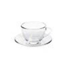 Taza de café c/platillo 90ml Oceano Marinex