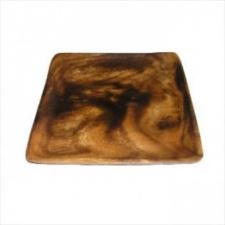 Bandeja madera cuadrada 20 x 20 cm