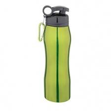 Caramañola acero inoxidable 750 ml color verde.