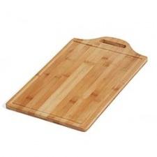 Tabla de bamboo p/cortar rectangular 46x28x1.5cm