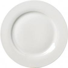 Plato de sitio 30,4 cm porcelana blanca Selecta