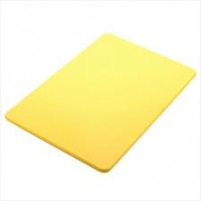 Tabla plástica 51x38x1.25cm amarrillo Sunnex