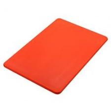 Tabla plástica 51x38x1.25cm rojo Sunnex