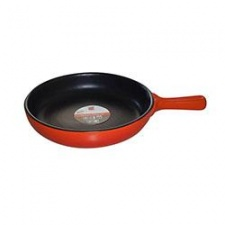 Sarten de ceramica D24/5.2cm fuego directo Selecta naranja