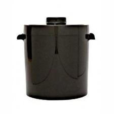 Hielera, balde de hielo Termolar 2.5ltrs negra