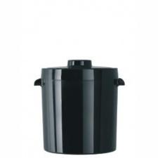 Hielera, balde de hielo Termolar 1ltro negra