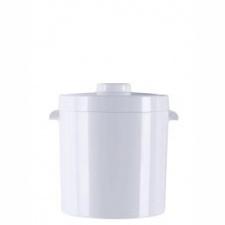 Hielera, balde de hielo Termolar 1ltro blanca
