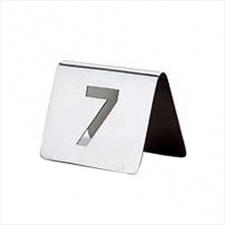 Cartel de mesa 39 piezas del Nº 21 al 60.