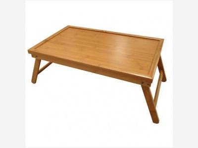 Mesa o bandeja de cama 50 x 30 x 21 cm plegable.