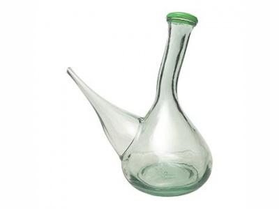 Aceitera 1 ltro. Porron vidrio. San Miguel.