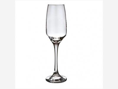 Copa de champagne 220 ml. Línea Merlot.