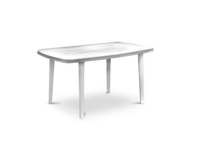 Mesa Plástica Ovalo Laja Blanca 140 X 90 cm.