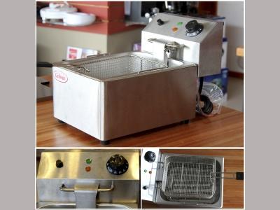 Fritador eléctrico Gelosur 6 Litros.