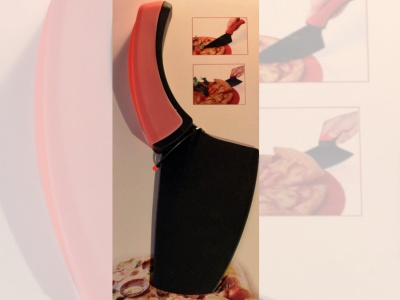 Cortador de pizza espatula 26.5 cm. Corrina.
