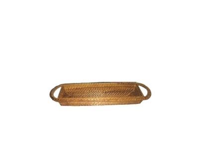Bandeja Rectangular Bamboo 48 x 15 x 5 Marrón