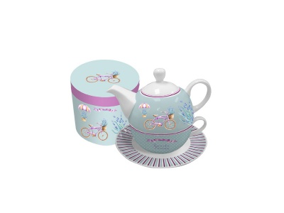 Set de Té Tea for One. 450300 ml Romantic Bike.