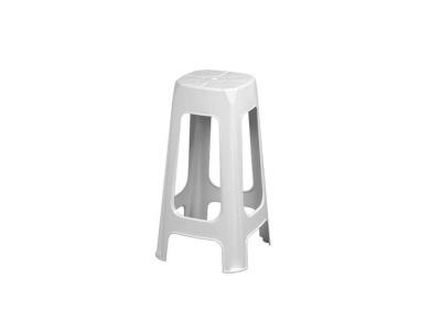 Banco banqueta plástico resistente 68 cm altura Plasnew