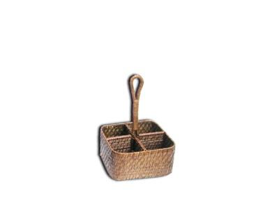 Cubiertera 4 divisiones Bamboo Rattan.