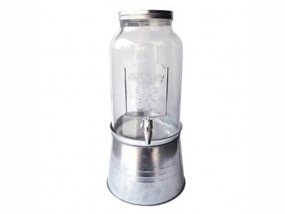 Dispensador de agua 5 lts leyenda ¨1899¨ con base metal.