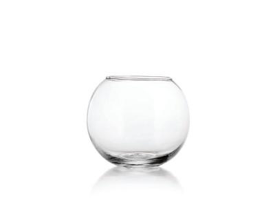 Florero Pecera vidrio D 17.8 cm Crisa.